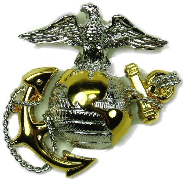 USMC Officer's Cap Device