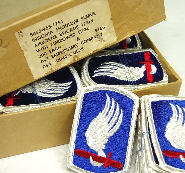 173rd Airborne Brigade Patch