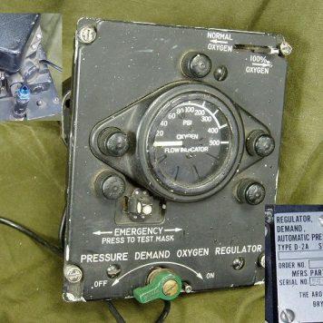 D-2A Aircraft Oxygen Regulator