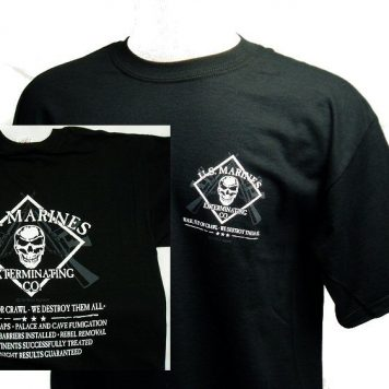 T-shirt, Marine Exterminating Co