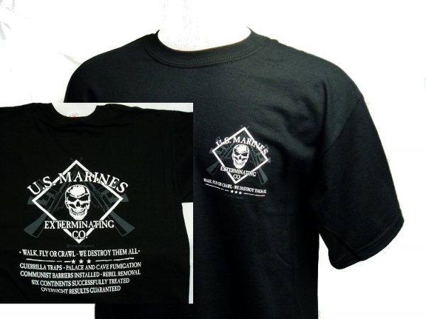 T-shirt, Marine Exterminating Co