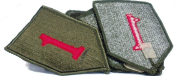 1st Infantry Patch, Color