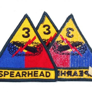 3rd Armored Patch, Color