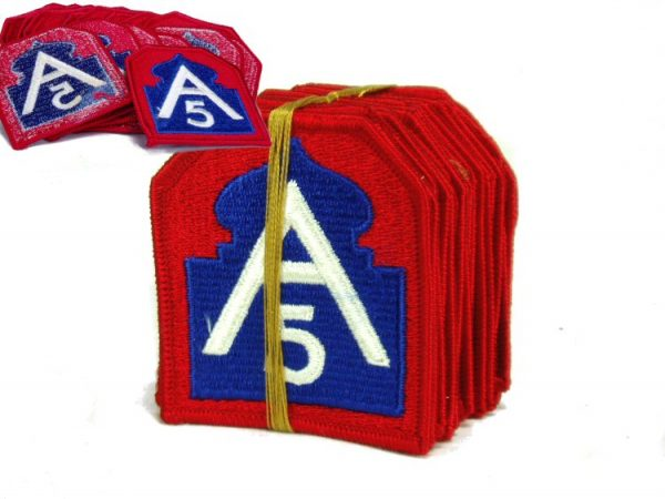 5th Army Patch, Color