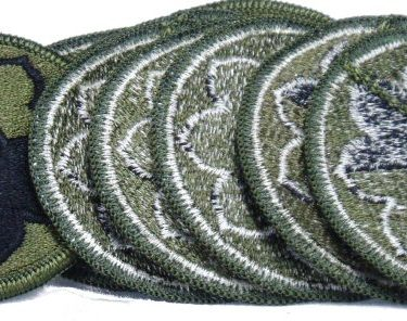 9th Infantry Patch, Subdued