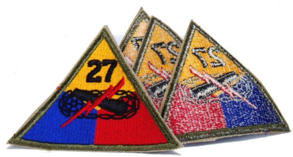 27th Armored Patch, Color