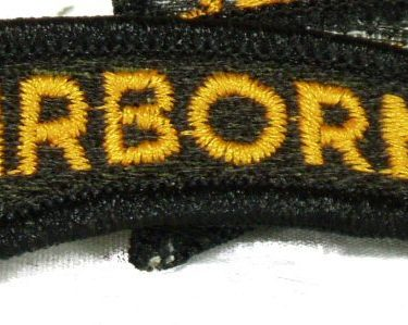Airborne Tab, Yellow / Black