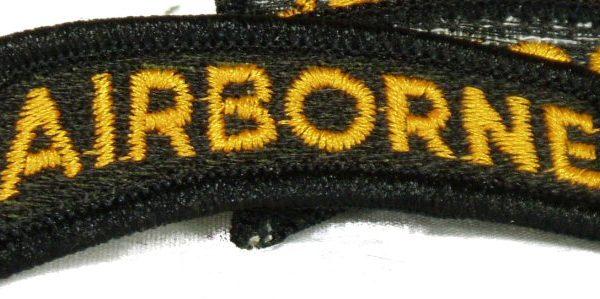 Airborne Tab, Yellow / Black