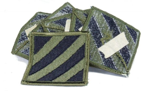3rd Infantry patch, Subdued