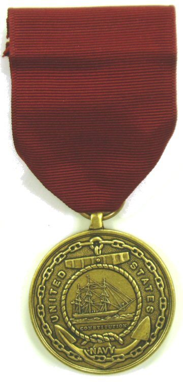 USN Good Conduct Medal Fsm