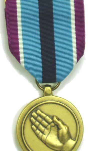 Humanitarian Service Medal Fsm