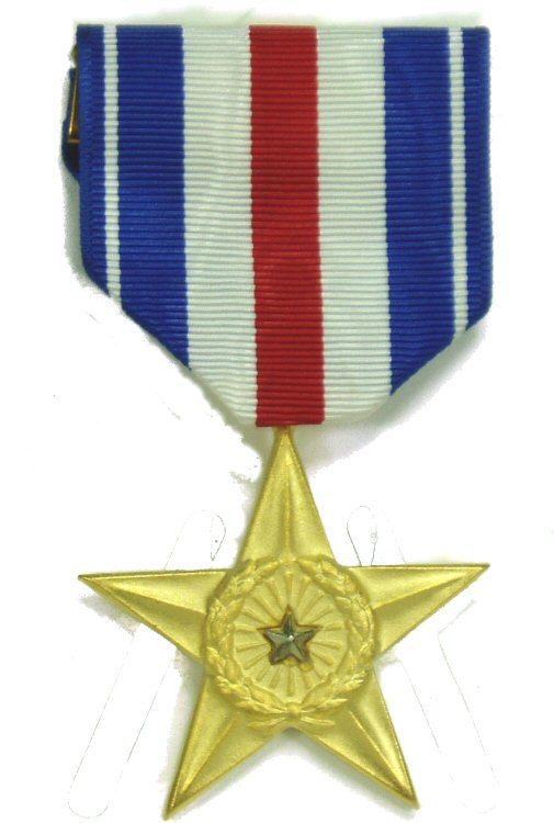 Silver Star Medal Fsm