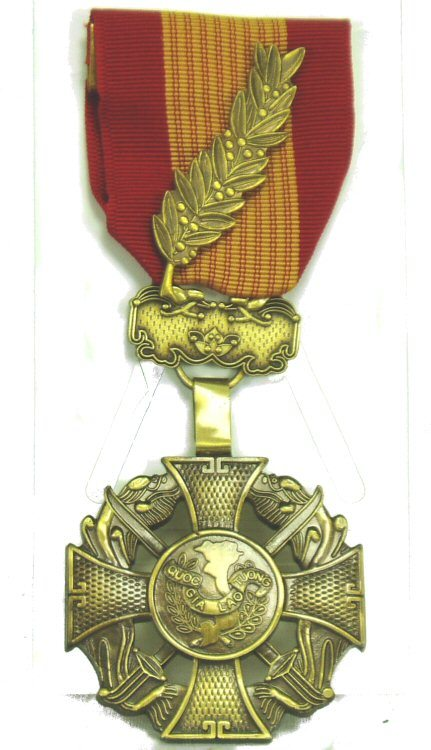 Vietnam Cross Of Gallantry Medal