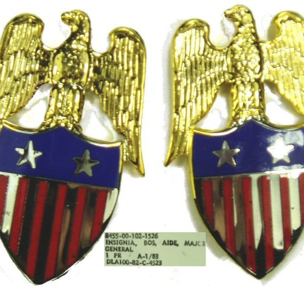 Aide To Major General Insignia