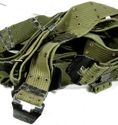 Davis Pistol Belt Vietnam Cotton