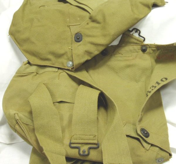 WW2 Gas Mask Bag