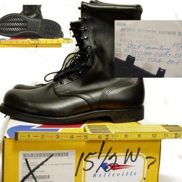 Big Size Combat Boots
