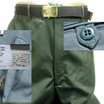 Army Class A Dress Trousers, 40XL