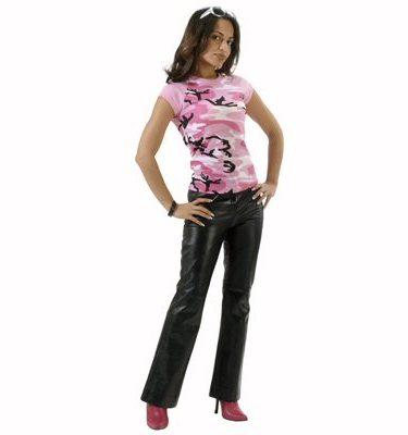 Women's Ragland Camo T-shirt, Pink Camo