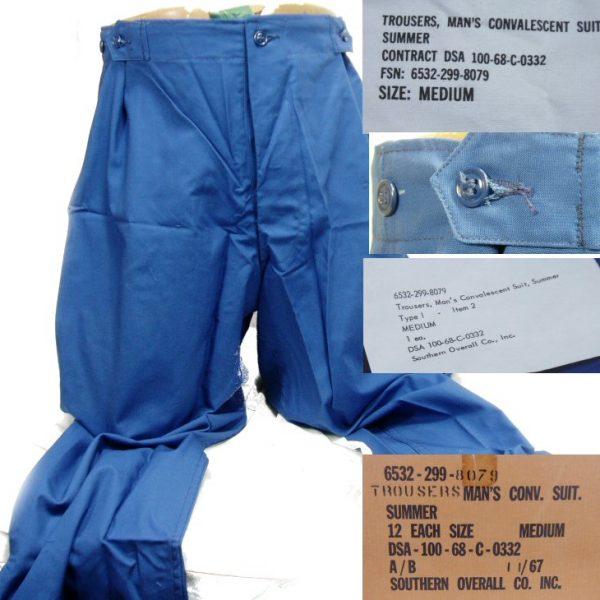 Convalescent Trousers, Medium, 1968 Date