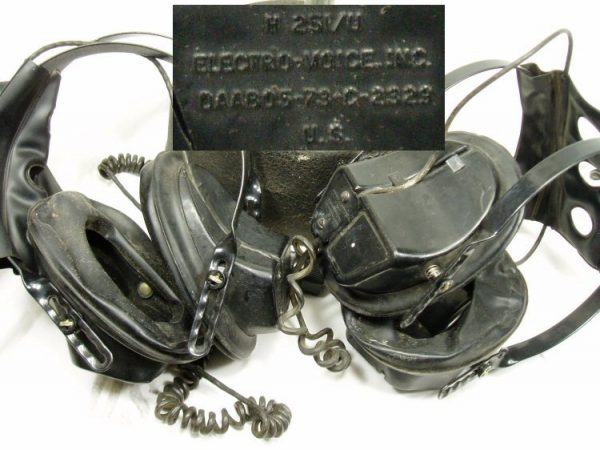 Headset Avionics Used, Non-functional