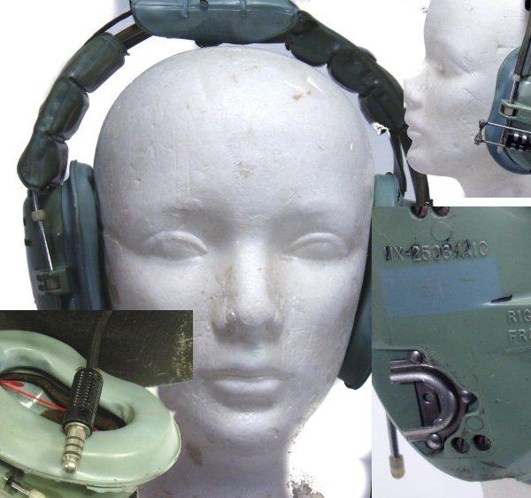 Military Aviator Headset