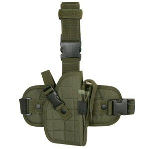Molle Tactical Thigh Holster Padded