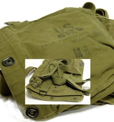 M9A1 Gas Mask Bag, Used
