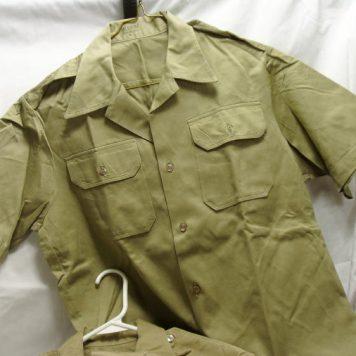 Army Khaki Shirt, Short Sleeve