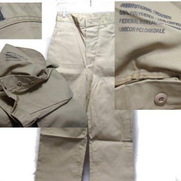 Prison Khaki Trousers