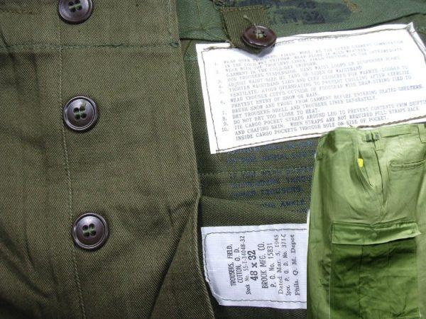 M1951 Field Trousers, 48 X 32, 1945 Date