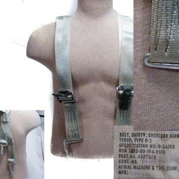 Shoulder Harness, Troop Type D-2