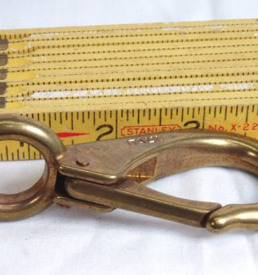 "Brass Snap, 3.5"" Inch Stationary 90."