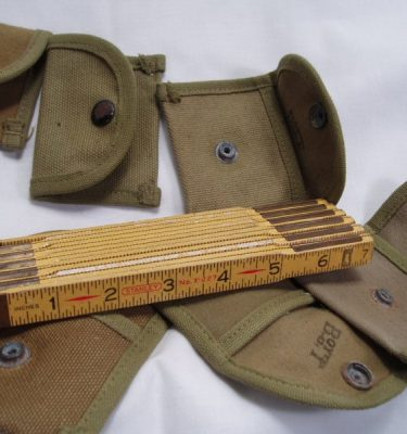 WW2 Rifle Cleaning Patch  Pouch