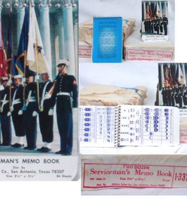 Serviceman's Memo Book