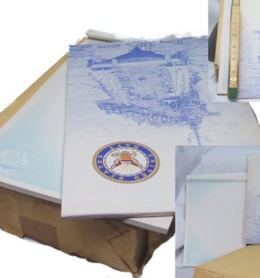 Us Navy Writing Tablet, 7 X 10
