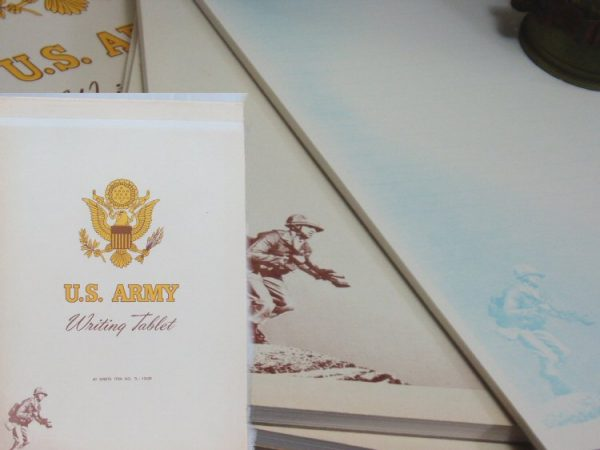 US Army Writing Tablet