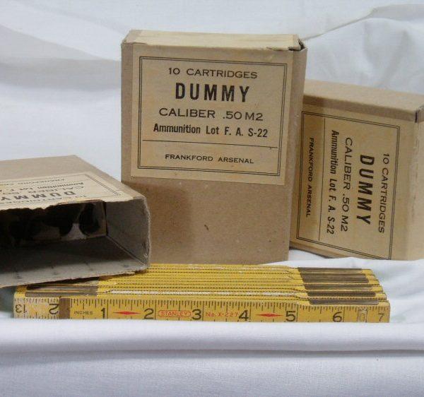 Empty Shell Box, 50 Cal Ammo