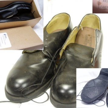 Military Oxfords Steel-toe, 13r