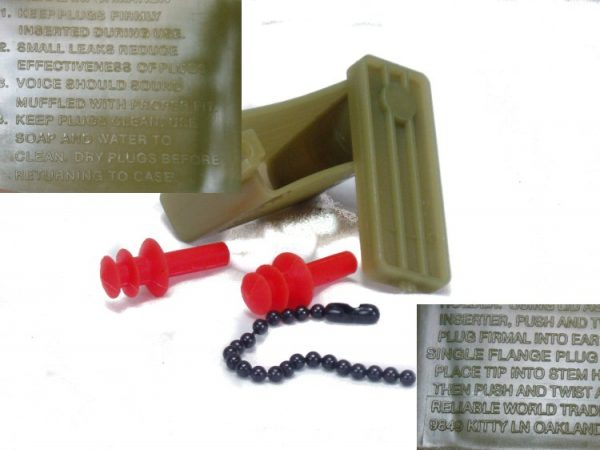 Military Ear Plugs