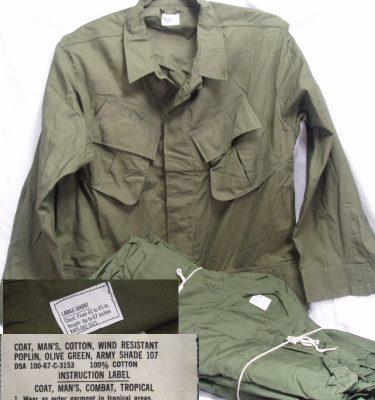Vietnam Poplin Jungle Shirt-Large Short