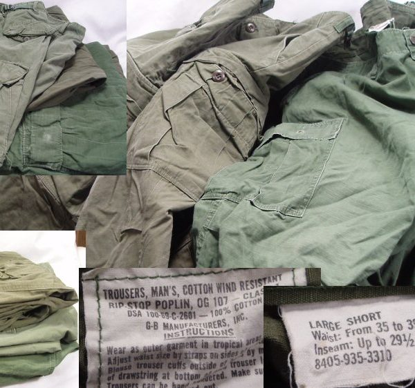 Vietnam Jungle Trousers, Large Short Used