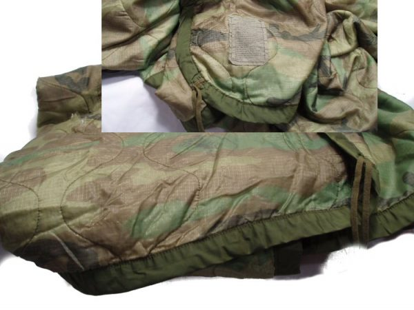 Camo Poncho Liner, Used