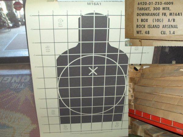 300 Meter Target Box Of 100