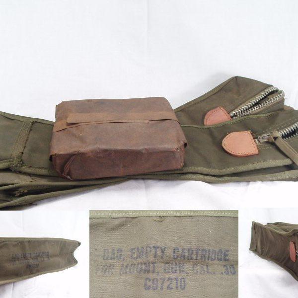 Spent Cartridge Bag, 30 Cal.