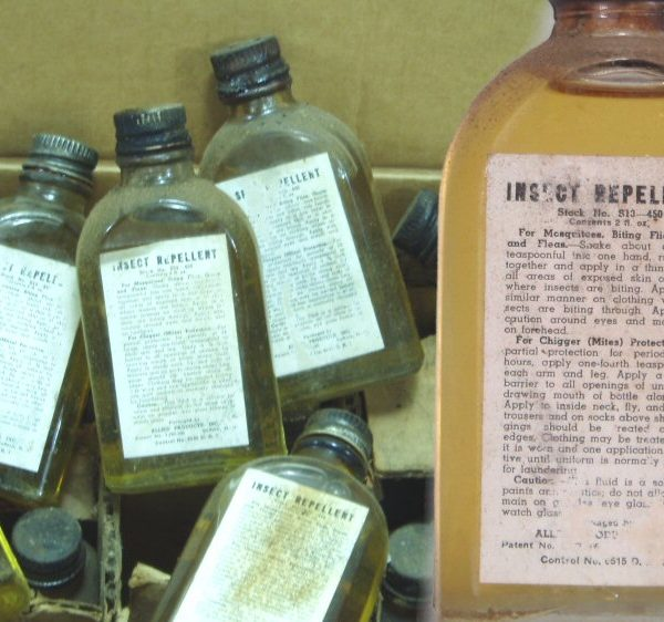 WW2 Mosquito Repellent