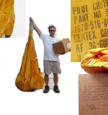 B 47 Deceleration Pilot Parachute
