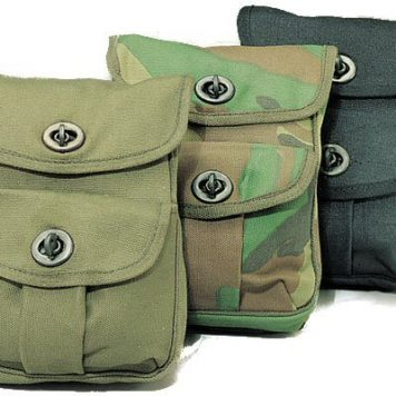 Canvas 2-pocket Ammo Pouches 9002