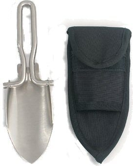 Stainless Steel Folding Shovel