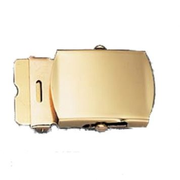 "Brass Buckle For 1 1/4"" Web Belt"